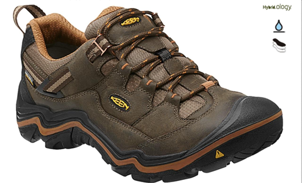 c607738cae1b Men s Keen Durand Low Waterproof Cascade Brown Glazed Ginger Hiking Shoe
