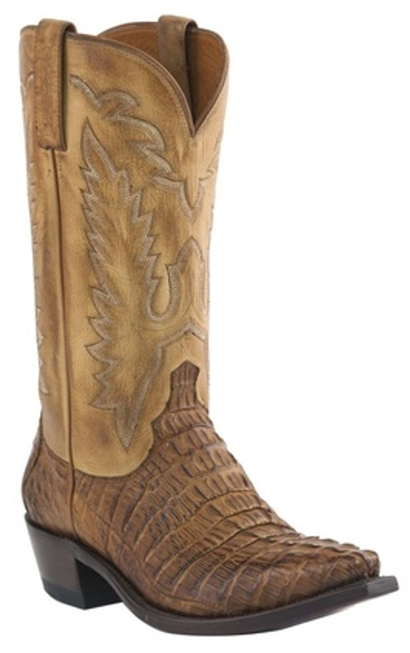 64a526dce95 Men's Lucchese Caimen Tail Conrad Western Boot