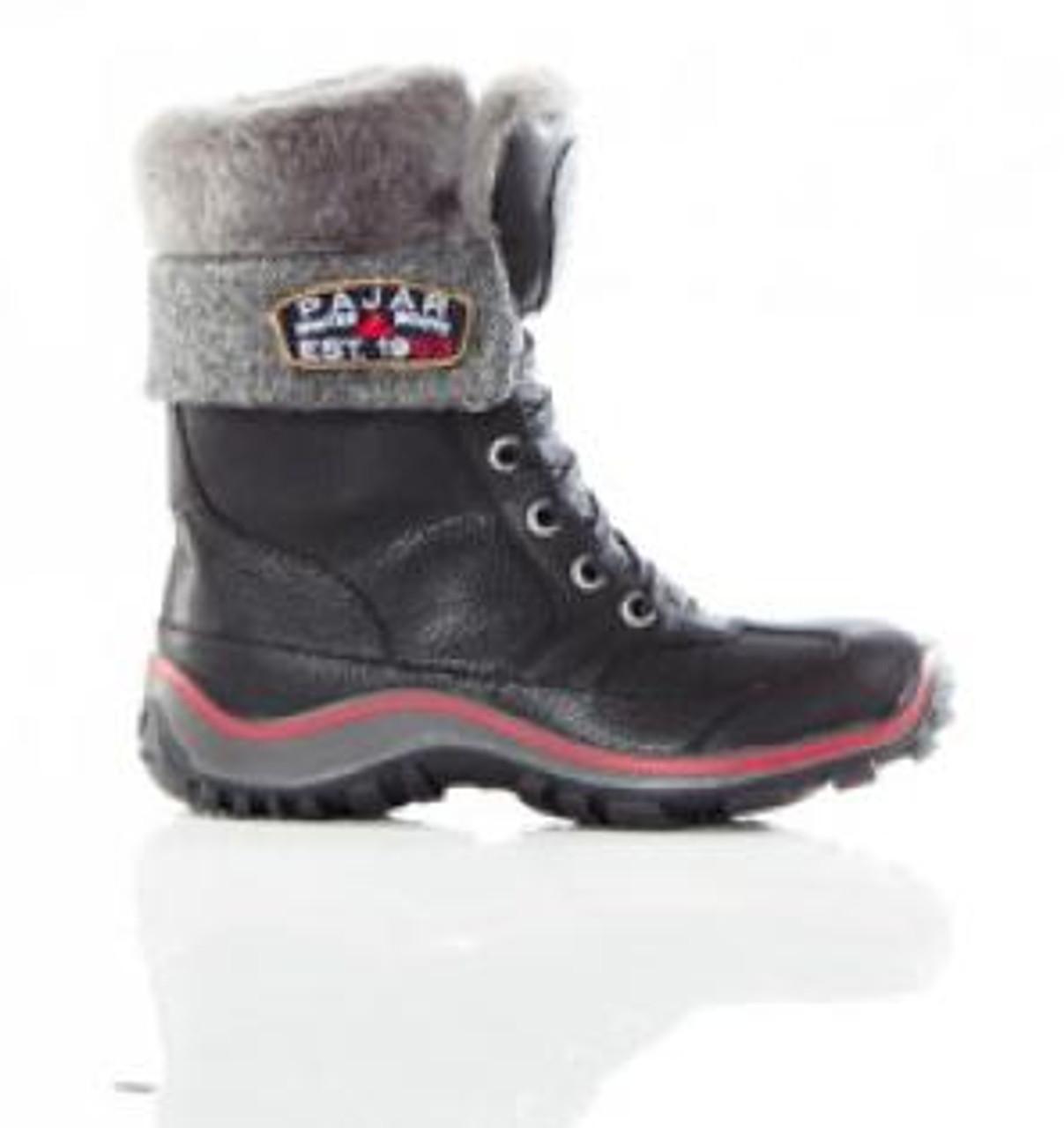 Women's Pajar Alice Black Winter Boot