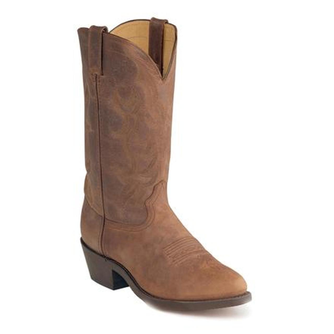 Men's Durango Brown Medium Round Toe Western Boot - Herbert's Boots and Western  Wear