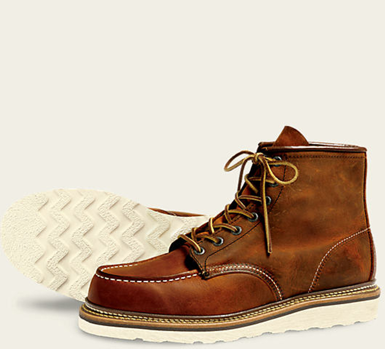 Red Wing Heritage 1907 Moc Toe Boot