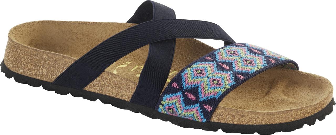 Birkenstock Papillio Cosma Aztec Dark Blue - Herbert s Boots and ... 6547545787a