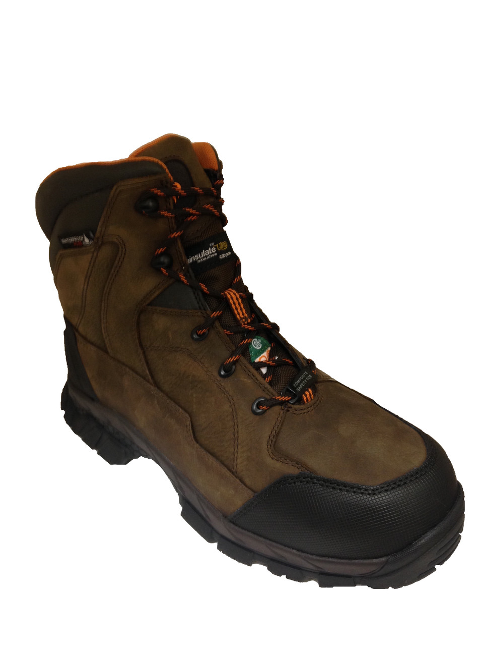 bb07cc9ce48 Men's Wolverine Glacier CSA Safety Boot 400g Thinsulate