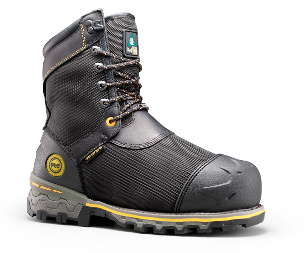 57fae39ff9 Men's Timberland PRO Boondock Met Guard With Ballistic Nylon CSA Work Boot