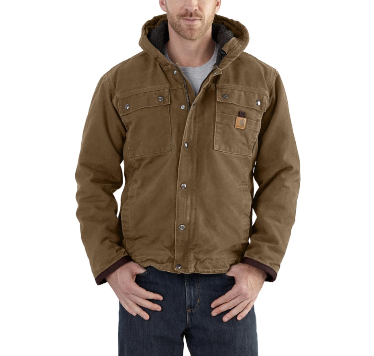 f82db0ec7c Men's Carhartt Bartlett Jacket Sherpa Lined - Herbert's Boots and ...