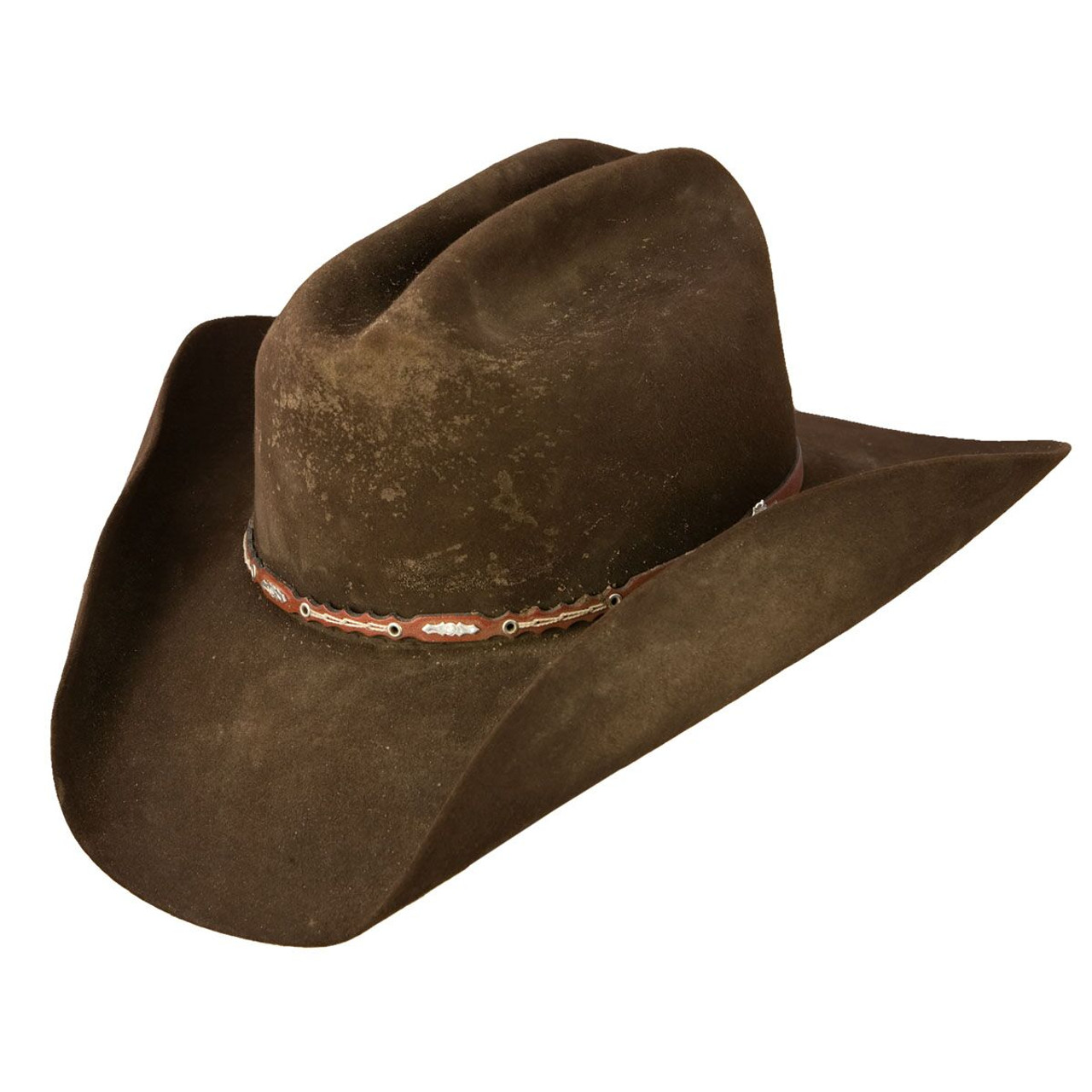 42093a68cee Stetson Boss of the Plains Felt Cowboy Hat - Herbert s Boots and Western  Wear
