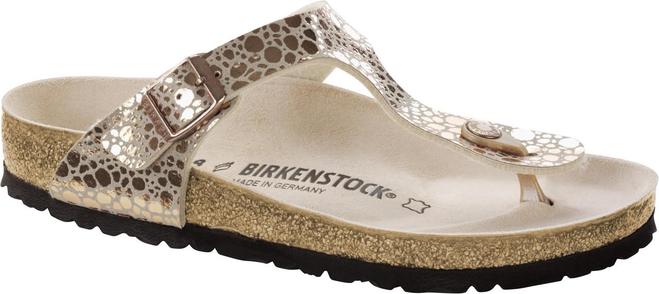 baf71c0fb Birkenstock Gizeh Metallic Stones Copper - Herbert s Boots and ...