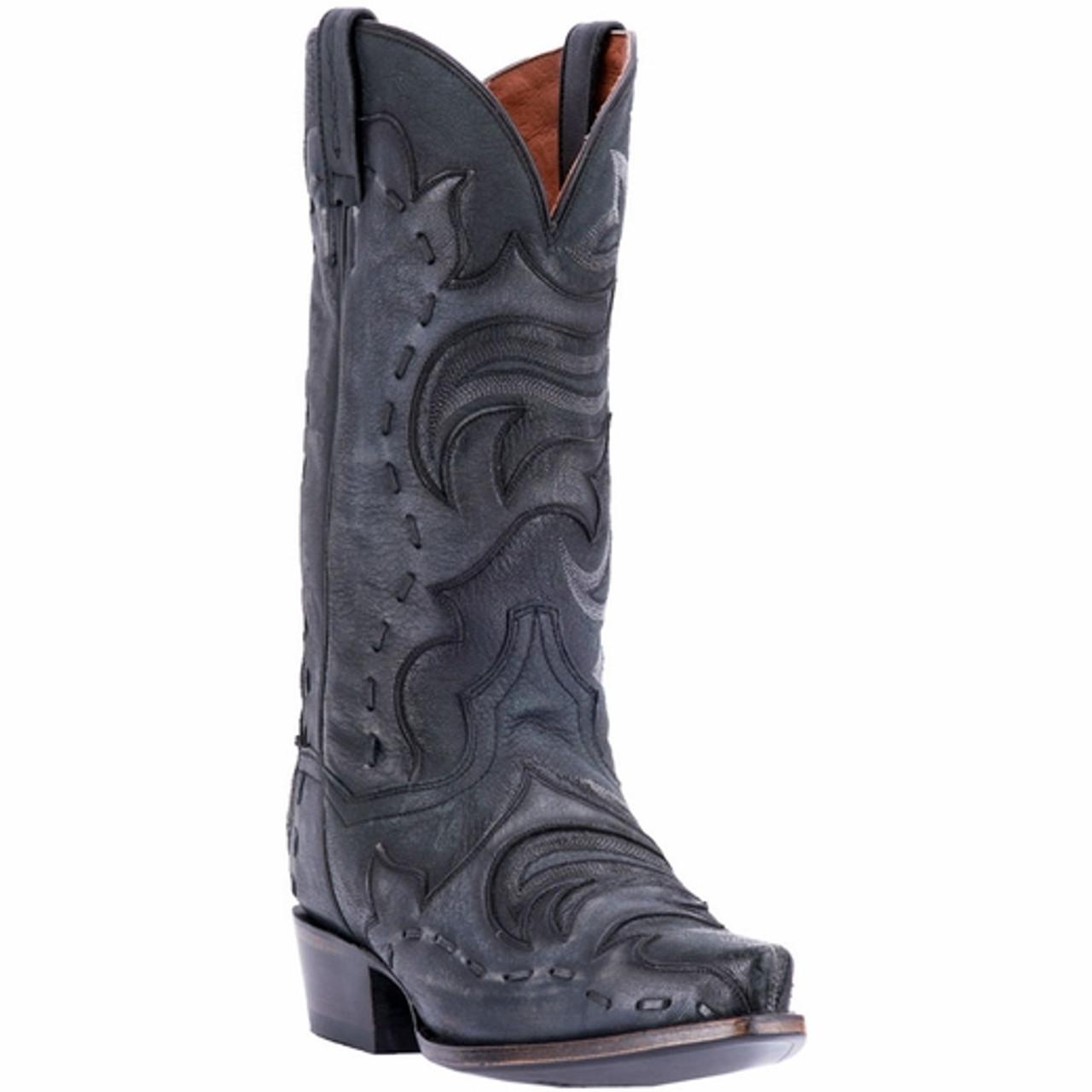 c242f043376 Men's Dan Post Henley Black Grey Western Boot