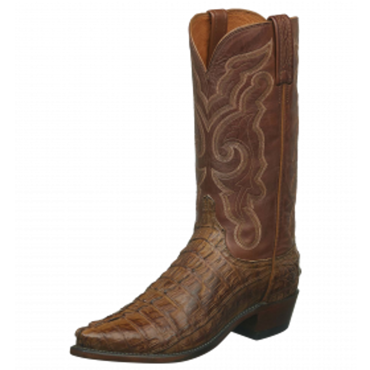 817348807ca Men's Lucchese Franklin Tan Hornback Western Boot