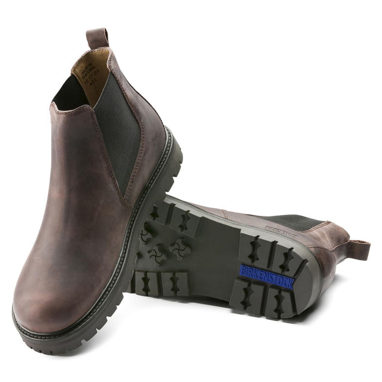 18cd37d10f2 Birkenstock Stalon Mocha Pull-On Boot - Herbert s Boots and Western Wear
