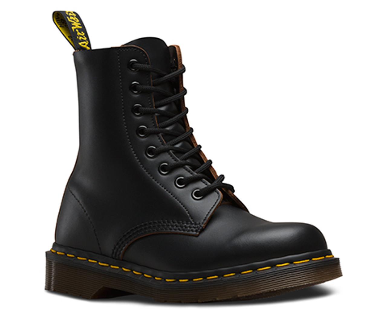 d085e2887c25c Dr. Martens Men's Original 1460 Vintage Leather Black - Made in England