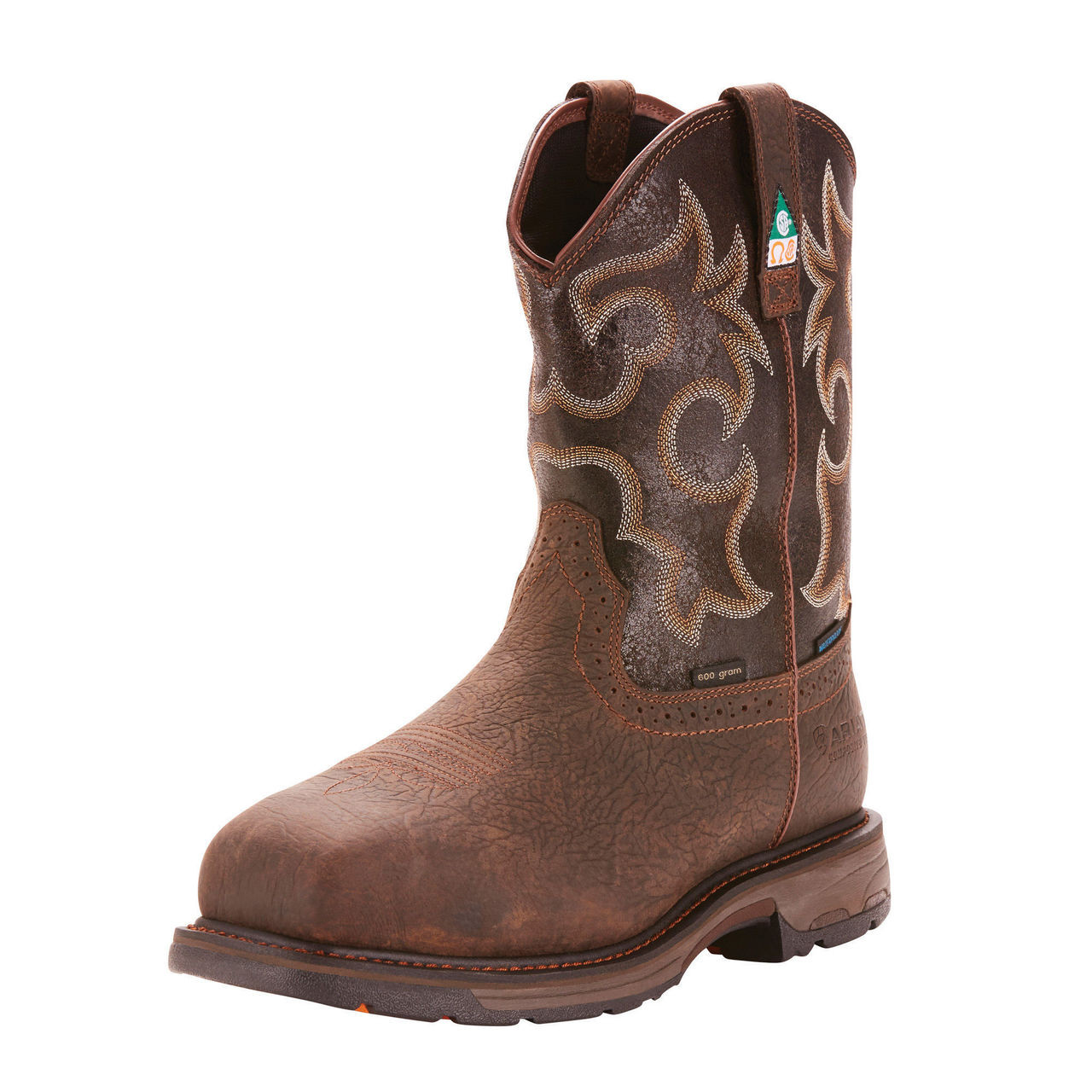 2c6b6c623a2 Men's Ariat Workhog H2O Insulated CSA Composite Toe Western Work Boot