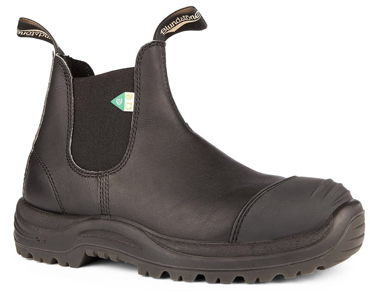 7a800f4e8fdd7 Blundstone 168 Black CSA Rubber Toe Cap Safety Boot *FREE SHIPPING ...