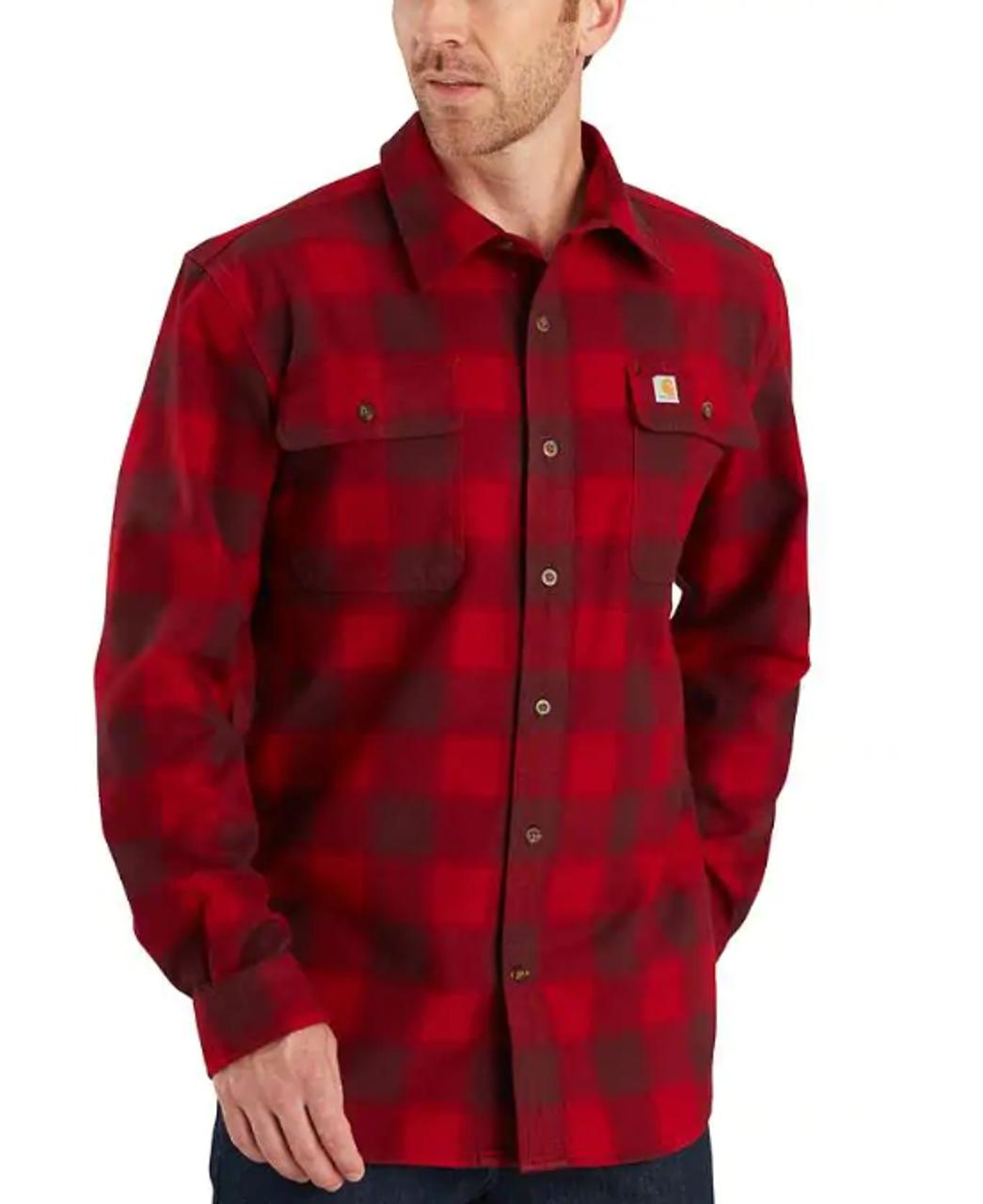 najwyższa jakość najnowsza zniżka szczegóły Men's Carhartt Hubbard Plaid Flannel Shirt