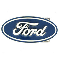 Ford Enamel Belt Buckle