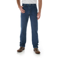 Men's Wrangler George Strait Heavyweight Stone Denim Original Fit Boot Cut Jeans