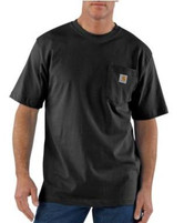 Men's Black Carpenter Pocket T-Shirt