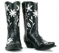 """Women's Liberty Boot Co. 10"""" 60's Cowgirl Boot"""