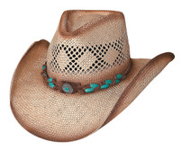 "Bullhide ""Easy On The Eyes"" Straw Hat"