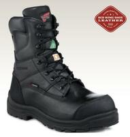 "Men's Red Wing 8"" Black Waterproof CSA Work Boot"