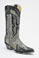 Women's Corral Black Eagle Sequin Boot Western Boot