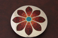 Call Me Wildflower Stone Belt Buckle