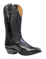 Men's Boulet Black Medium Round Toe Western Boot