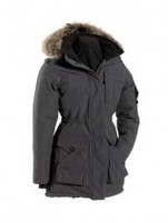 Women's Quartz Co. Nadine Charcoal Down Coat