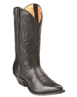 Men's Boulet Black Cowboy Toe Western Boot