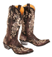 Women's Old Gringo Lucky Horseshoe Western Boot