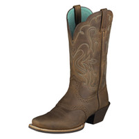 Women's Ariat Legend Distressed Brown Cowboy Boot