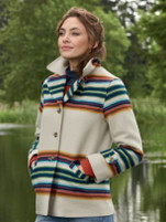Pendleton Women's La Grande Wool Coat