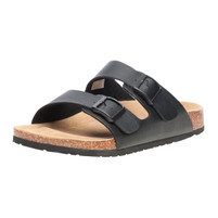 Men's Viking Two Strap Black Sandal