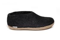 Glerups Black Wool Shoe