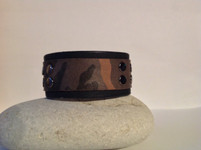 CEOriginals Mens leather camo cuff