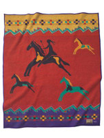 "Pendleton Woolen Mills ""Celebrate the Horse"" Blanket"