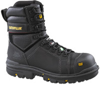 "Men's CAT 8"" Hauler Composite Black CSA Safety Boot"