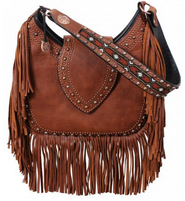 Double J Saddlery Brandy Pull-Up Hobo Bag
