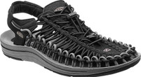 Men's KEEN UNEEK Black/Gargoyle Sandal
