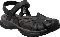 Women's Keen Rose Black Leather Sandal