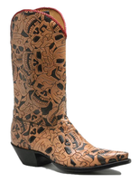 4b1d3b3af8d Men's Lucchese Caimen Tail Conrad Western Boot - Herbert's Boots and ...