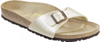 Birkenstock Madrid Graceful Pearl White Birko-Flor Sandal