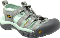 Women's Keen Newport H2 Neutral Gray/Misty Jade Sandal