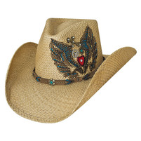 "Bullhide ""Take it Easy"" Straw Hat"