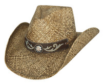 "Bullhide ""Tennessee River"" Straw Hat"