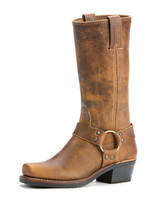 Women's Frye Dark Brown 12R Harness Boot