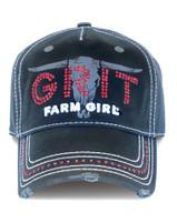 Farm Girl Grit Longhorn Cap