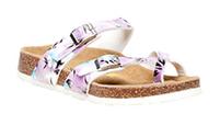 Women's Viking Tofino Mauve Floral Sandal