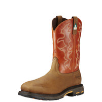 Men's Ariat Workhog CSA Composite Toe Western Work Boot