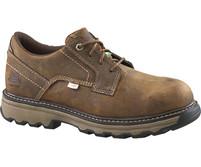 Men's CAT Tyndall Steel Toe Brown Work Shoe
